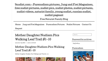 Family purenudism Making Porn,