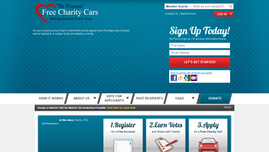 is freecharitycars Up or Down