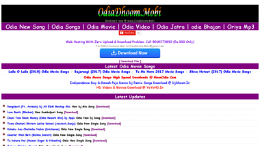 Odiadhoom mobi - Is Odiadhoom mobi Down right now, up or me  Down