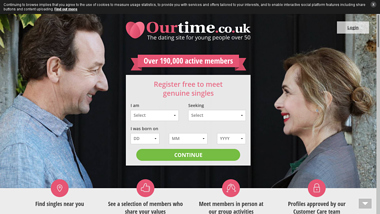 our time dating login