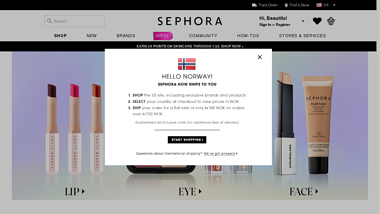 is sephora Up or Down