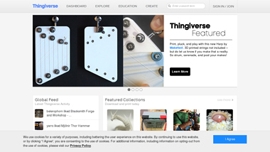 is thingiverse Up or Down